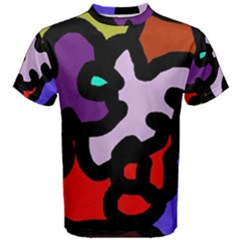 Colorful abstraction by Moma Men s Cotton Tee