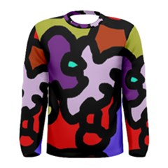 Colorful abstraction by Moma Men s Long Sleeve Tee