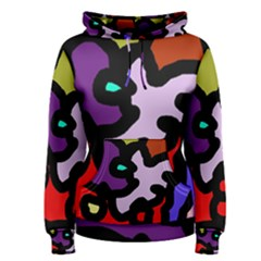 Colorful abstraction by Moma Women s Pullover Hoodie