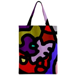 Colorful abstraction by Moma Zipper Classic Tote Bag
