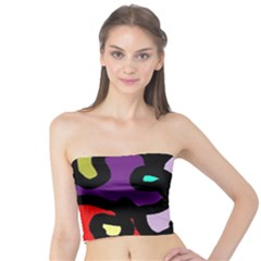 Colorful abstraction by Moma Tube Top