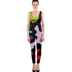 Colorful abstraction by Moma OnePiece Catsuit