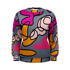 Colorful abstract design by Moma Women s Sweatshirt