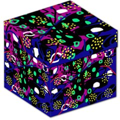 Abstract colorful chaos Storage Stool 12