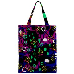 Abstract colorful chaos Classic Tote Bag