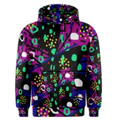 Abstract colorful chaos Men s Pullover Hoodie