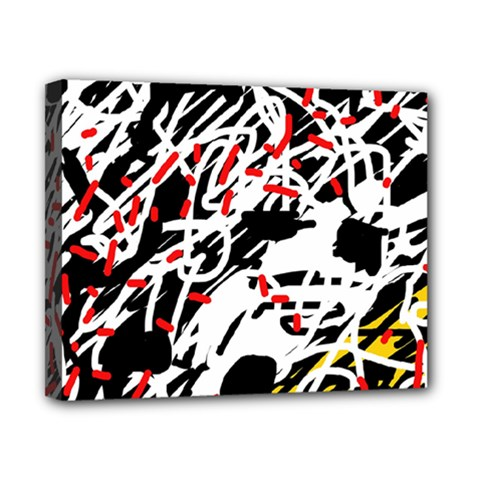 Colorful chaos by Moma Canvas 10  x 8