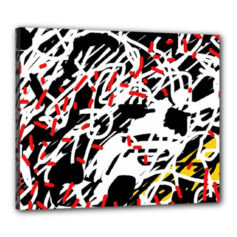 Colorful chaos by Moma Canvas 24  x 20
