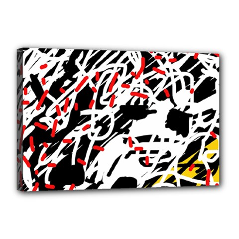 Colorful chaos by Moma Canvas 18  x 12