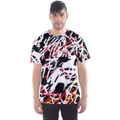 Colorful chaos by Moma Men s Sport Mesh Tee