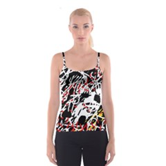 Colorful chaos by Moma Spaghetti Strap Top