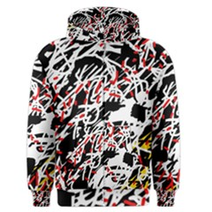 Colorful chaos by Moma Men s Zipper Hoodie