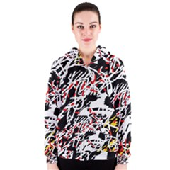 Colorful chaos by Moma Women s Zipper Hoodie
