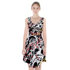 Colorful chaos by Moma Racerback Midi Dress