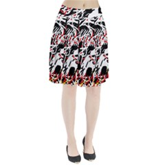 Colorful Chaos By Moma Pleated Skirt