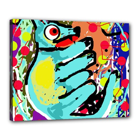 Abstract animal Canvas 20  x 16