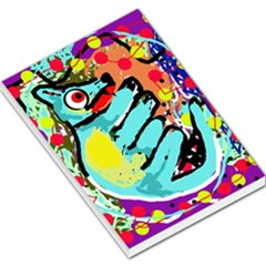 Abstract animal Large Memo Pads