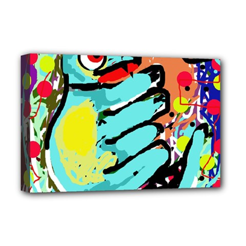 Abstract animal Deluxe Canvas 18  x 12