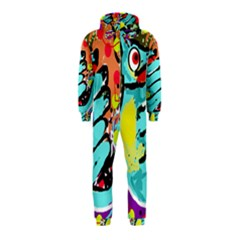 Abstract animal Hooded Jumpsuit (Kids)