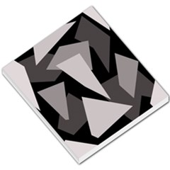 Simple gray abstraction Small Memo Pads