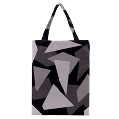 Simple gray abstraction Classic Tote Bag