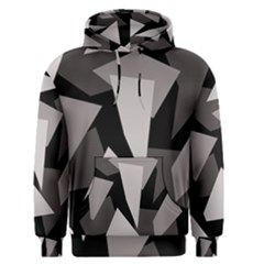 Simple gray abstraction Men s Pullover Hoodie