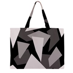 Simple gray abstraction Large Tote Bag