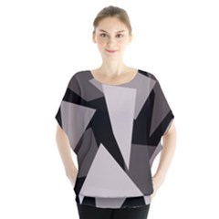 Simple gray abstraction Blouse