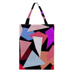 Colorful geometrical design Classic Tote Bag