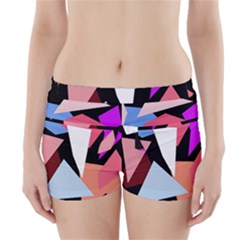 Colorful Geometrical Design Boyleg Bikini Wrap Bottoms