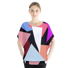 Colorful geometrical design Blouse
