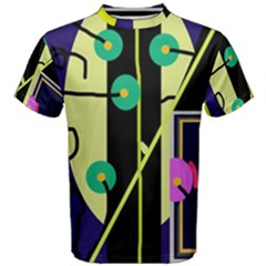 Crazy abstraction by Moma Men s Cotton Tee