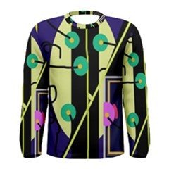 Crazy abstraction by Moma Men s Long Sleeve Tee