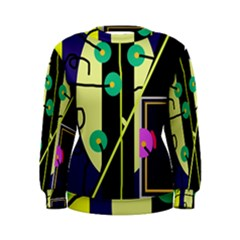 Crazy abstraction by Moma Women s Sweatshirt