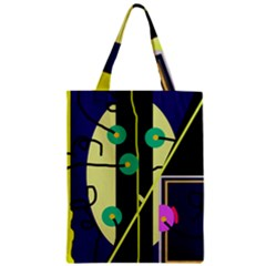 Crazy abstraction by Moma Zipper Classic Tote Bag