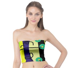 Crazy abstraction by Moma Tube Top