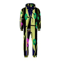 Crazy abstraction by Moma Hooded Jumpsuit (Kids)