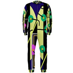 Crazy abstraction by Moma OnePiece Jumpsuit (Men)
