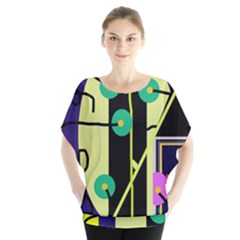 Crazy Abstraction By Moma Blouse