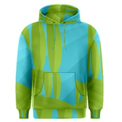 Green and blue landscape Men s Pullover Hoodie