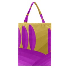 Yellow and magenta landscape Classic Tote Bag