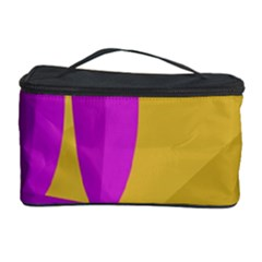 Yellow and magenta landscape Cosmetic Storage Case