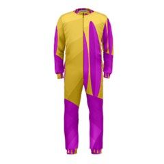 Yellow and magenta landscape OnePiece Jumpsuit (Kids)
