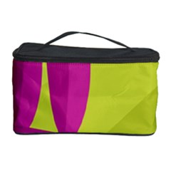 Yellow and pink landscape Cosmetic Storage Case