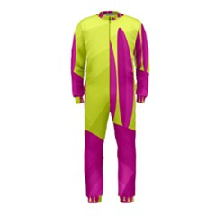 Yellow and pink landscape OnePiece Jumpsuit (Kids)