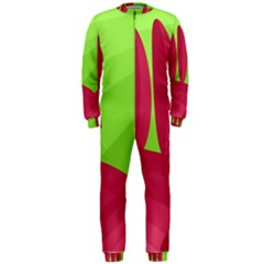 Green and red landscape OnePiece Jumpsuit (Men)
