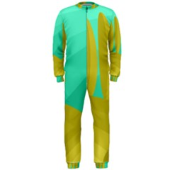 Green and yellow landscape OnePiece Jumpsuit (Men)
