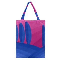 Magenta and blue landscape Classic Tote Bag