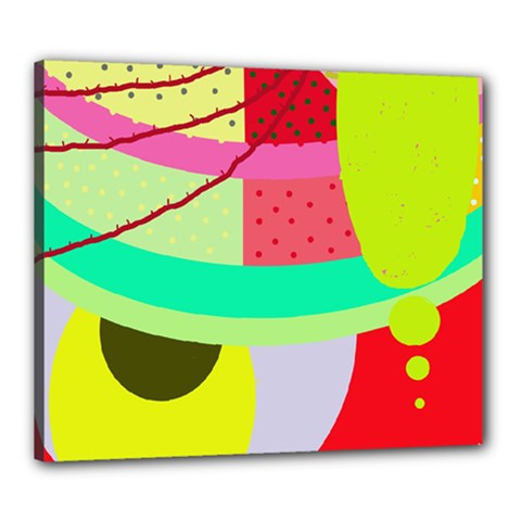 Colorful abstraction by Moma Canvas 24  x 20