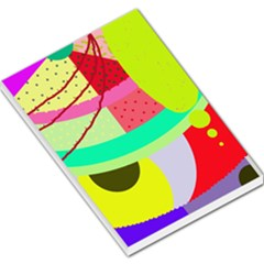 Colorful abstraction by Moma Large Memo Pads